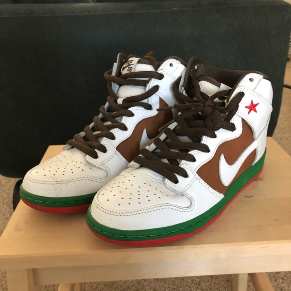 meet cef87 4c85f Nike SB Dunks High California 31st State. M 5c478620e944ba62eb620026